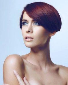 #shorthair  # # Short Wedge Hairstyles, Short Hairstyles For Women, Cool Hairstyles, Short Red Hair, Short Hair Styles, Cut My Hair, Hair Cuts, Bowl Cut, Top Celebrities