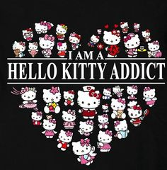 Hello Kitty addict...