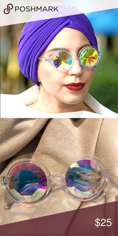 Kaleidoscope glasses NWOT Worn by tons of celebs! Accessories Glasses