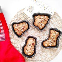 Petits gâteaux à la noisette (sans beurre et lait)