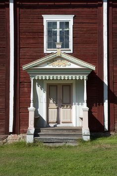 Small Buildings, Scandinavian Design, Curb Appeal, Gazebo, Shed, Exterior, Outdoor Structures, Doors, Traditional