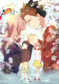 / Koe no Katachi // A Silent Voice // Shouko Nishimiya // Shouya Ishida Anime Love, Kyoani Anime, Sad Anime, Anime Art, Koe No Katachi Anime, A Silence Voice, Cool Animes, A Silent Voice Anime, Character Illustration