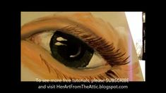 How to paint an eye (fast and easy)