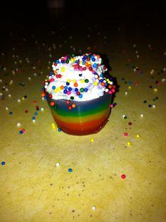 rainbow jello shots