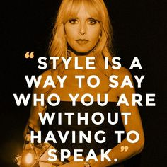 """""""Hair is a huge part of who I am and what I obsess over - I have had long hair my entire life"""", """"My basics are black, white, or neutral, and I will wear a ton of jewelry or carry a brightly colored bag"""", #RachelZoe #FashionInLondon @rachelzoe"""