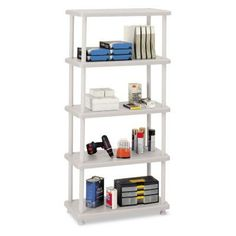 Iceberg Rough N Ready 5 Shelf Open Storage System - ICE20853, Durable