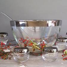 Image result for vintage punch bowls sets