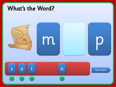 Spelling words with 3 Sounds - Phase set 1 - Resources - TES Phonics Games, Phonics Reading, Primary Teaching, Teaching Phonics, Spelling Words, Cvc Words, Phase 2 Phonics, Read Write Inc, Early Years Classroom