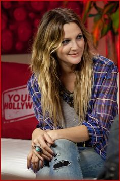 Drew Barrymore Young Hollywood Studio Photo Session2