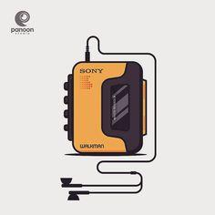 from @panoon_studio -  Remember this? . . . . #walkman #sonywalkman #sony #cassette #music #vector #vectorart #graphicdesign #graphicdesigner #designservice #bogor #panoonstudio #jakarta #visualart #visualworker #behance #dribbble #logonew #vaniladesign