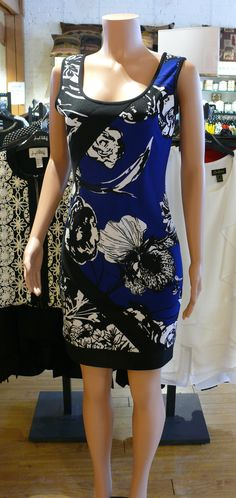 A fantastic summer dress from Joseph Ribkoff for summer 2015 available in Fenelon Falls, On. at The Kawartha Store.