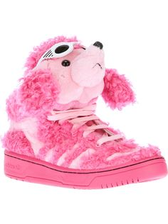 Adidas Originals By Jeremy Scott - 'Poodle' trainer Jeremy Scott Adidas, Shoe Art, Men's Collection, Poodle, Ugg Boots, Converse Chuck Taylor, Designer Shoes, Adidas Originals, Uggs
