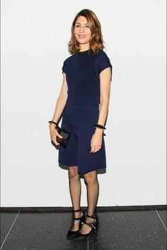 Sofia Coppola in Louis Vuitton - Louis Vuitton Monogram Celebration.  (November 2014)