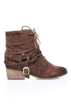 Slouchy booties//