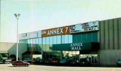 UA Annex 7 theater and Aladdin's Arcade, Tulsa, OK.