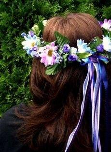 Felt Flower Crown Diy