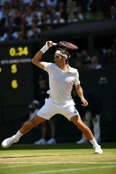 Roger Federer . @wimbledon 2016