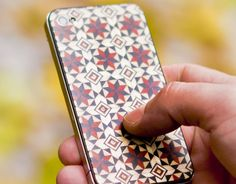 If you're still sporting an iPhone and looking for a way to give it a truly amazing detail, these back panels by Tarxia are simply gorgeous. Handcrafted in Granada, Spain, using techniqu… Autumn Trees, Craftsman Style, Islamic Art, Pretty Cool, Mosaic, Iphone Cases, Granada Spain, Cool Stuff, Cover