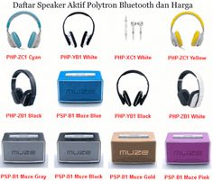 Daftar harga Speaker Aktif Polytron Bluetooth seri PAS, PMA, MUZE.