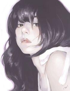 Imagem de girl, art, and illustration Pretty Art, Cute Art, Character Illustration, Illustration Art, Cat Ideas, Art Sketches, Art Drawings, Fanart Manga, Anime Art Girl