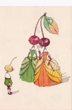 1961 postcard Illustration by Galey