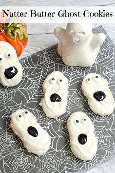 Looking for a cute Halloween treat to serve? These Nutter Butter Ghost Cookies are simple to make and will be the perfect addition to your child's lunchbox.