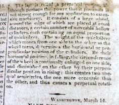 1821-Talbot-County-Maryland-newspaper-w-descripts-of-7-AUTOMATON-MECHANICAL-TOYS-