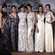 Claire Pettibone Romantique Fashion Show at Bridal Market | Photo: Bridal Guide Magazine