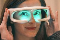 Future Technology; glasses that record your dreams while sleeping. wow :D