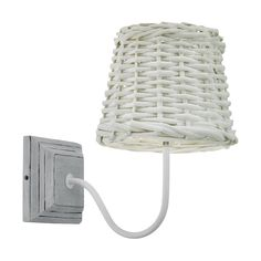 What an eye-catcher - the DOVENBY wall luminaire. Cottage Chic, Basket, Lighting, My Style, Catcher, Home Decor, Steel, Timber Wood, Light Fixtures
