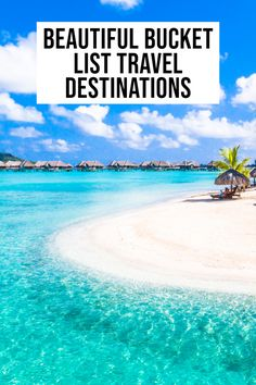 Don't miss these stunning bucket list destinations! World Travel Guide, Travel List, Solo Travel, Budget Travel, Bucket List Destinations, Travel Destinations, Travel Around The World, Around The Worlds, Student Travel