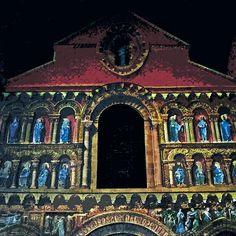 Notre Dame la Grande de Poitiers 9 (t) as Paint - en Peinture... France olao-olavia  okaio Créations