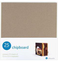 Chipboard Silhouette