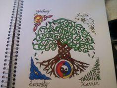 Celtic Tree of Life by nightmares4life