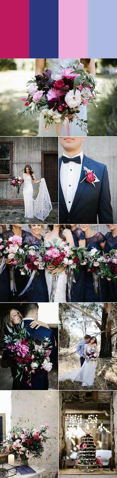7 Swoon-Worthy Pink Wedding Color Palettes   Junebug Weddings