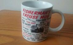 Fisherman's Excuse Novelty Coffee Mug