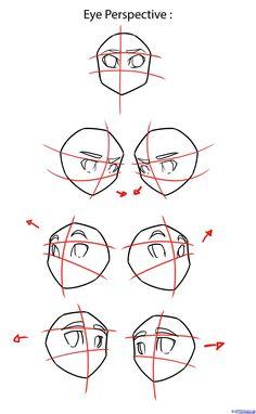 How to Draw Anime Eyes, Step by Step, Anime Eyes, Anime, Draw Japanese Anime, Draw Manga, FREE Online Drawing Tutorial, Added by NeekoNoir, ... #DrawingAnimeCharacters #mangadrawing