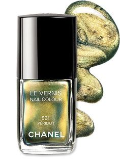 #Chanel's Peridot Nail Lacquer was an instant hit after launching last fall, and we can see why!  http://news.instyle.com/2012/05/03/metallic-chrome-nail-polishes/