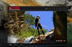 Outside climbing and canyoning www.climbandcanyoning.com Realizzazione siti web professionali, progetti e-commerce, web marketing e gestione social
