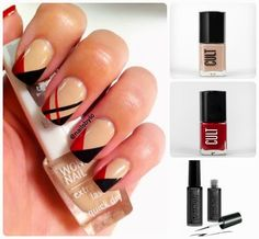 Most Elegant Nail Designs for Beginners 2014 Simple Elegant Nails, Elegant Nail Art, Elegant Nail Designs, Cute Nail Designs, Art Designs, Design Ideas, Love Nails, How To Do Nails, Nails Art 2016
