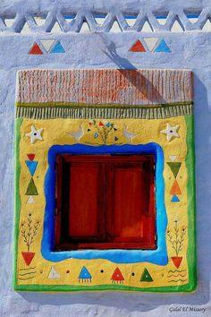 Nuba house's window