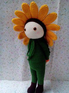 Sunflower Sam made by Y Nhi N - amigurumi pattern by Zabbez / Bas den Braver
