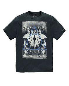 Firetrap Twin Pines T-Shirt Long | Jacamo