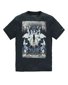 Firetrap Twin Pines T-Shirt Long | Jacamo