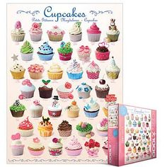 Cupcakes jigsaw puzzle by Eurographics