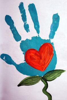 Heart hand print / Lexi