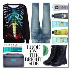 """""""YesStyle Polyvore Group """" Show us your YesStyle """""""" by teryblueberry ❤ liked on Polyvore featuring Omifa, Yves Saint Laurent, Tony Moly and Sunsteps"""