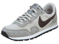 Nike Air Pegasus 83 Leather Schuhe lunar grey-dark storm-midnight grey - 41