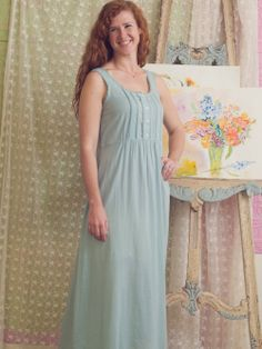 """New Arrivals: April Cornell Sleepwear at Diane's Lingerie. The April Cornell Collection is a dream to wear. Made from pure cotton and sumptuous blends like cotton/bamboo each piece delivers a comfortable and light feel. """"I adore the uniqueness of women and try to make my creations a match for their beauty. Each piece is unique and handmade. Please enjoy."""" —April Cornell"""