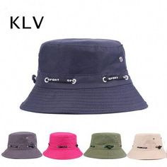 e523df2ad36a7 Women Unisex Summer Foldable Breathable Lovers Fisherman Hats Casual Travel Sunscreen  Bucket Hat is hot sale on Newchic Mobile.